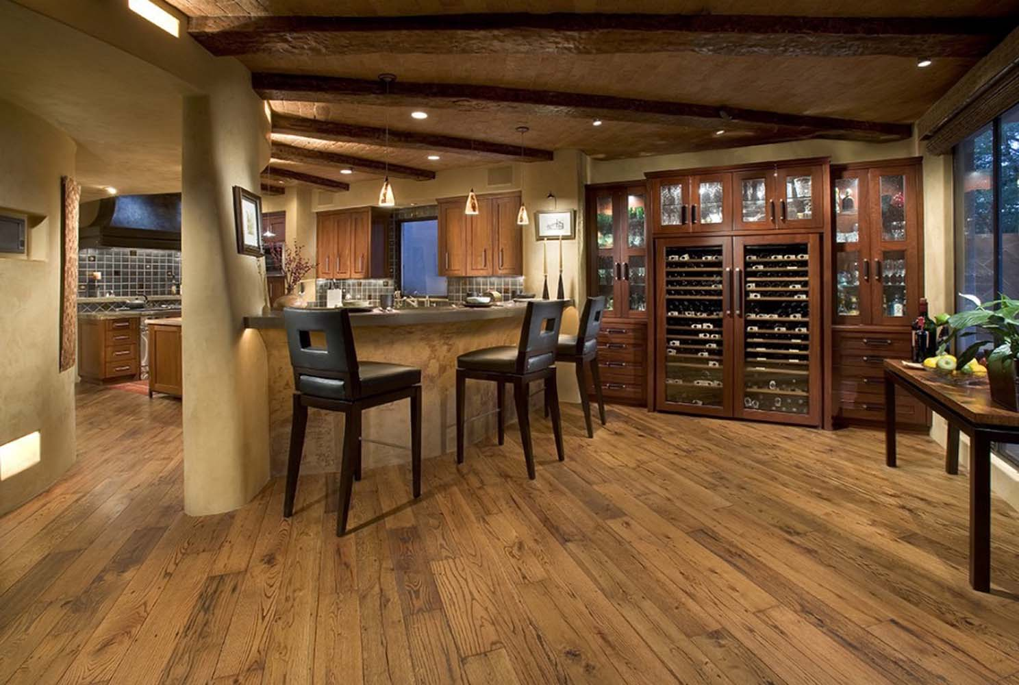 Types Of Kitchen Flooring Pros And Cons Reclaimed Laminate Flooring All About Flooring Designs